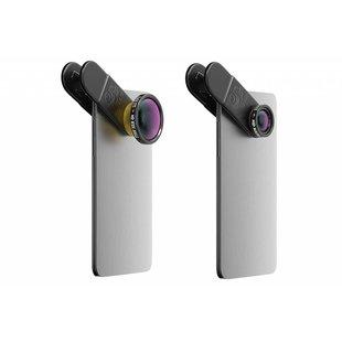Black Eye HD Combo Smartphone Lens - Zwart / Black