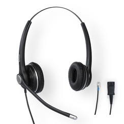 SNOM A100D Duo Headset