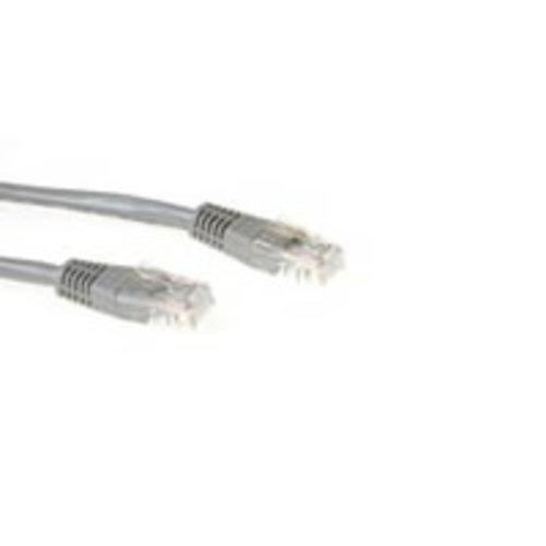 Act UTP netwerkkabel  Cat5e grijs 5 meter - 5 Pack (IB6005-5)