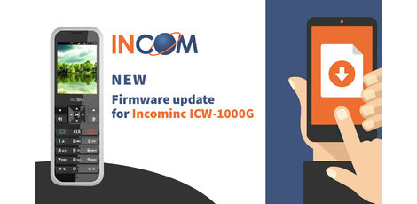 Nieuwe firmware voor Incom ICW-1000G
