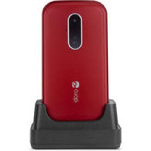 Doro Doro 6620 3G Red/White + Cradle (253-80267)