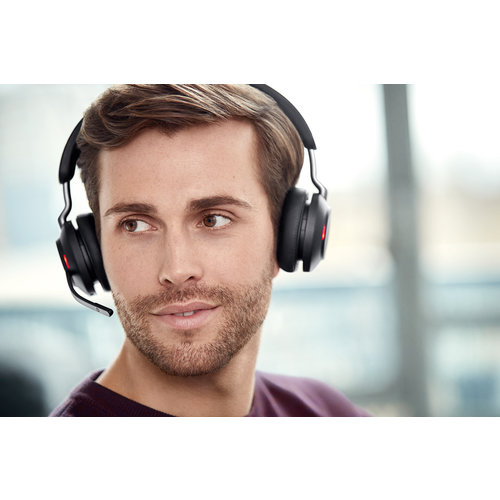 Jabra Jabra Evolve2 65 UC Stereo Bluetooth headset met USB Dongel