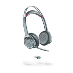 Plantronics Voyager Focus UC B825, zonder bureaustandaard.BT-USB-Wireless