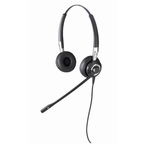 Jabra Jabra BIZ 2400 II  IP Duo NC bedrade headset voor vaste toestellen