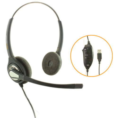 Agent Agent 402 NC  Stereo USB Headset