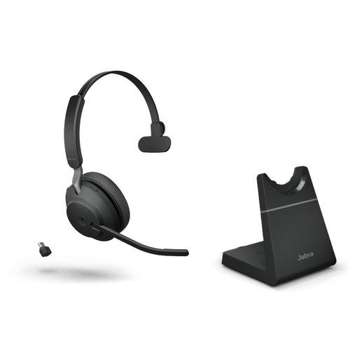 Jabra Jabra Evolve2 65, Link380c UC Mono Stand Black (26599-889-889)