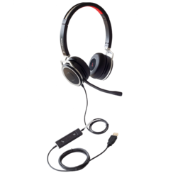 FreeVoice Space 440 UC Stereo headset  bedraad (USB-A)