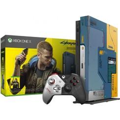 Xbox One X 1TB-console - Cyberpunk 2077 Limited Edition-bundel
