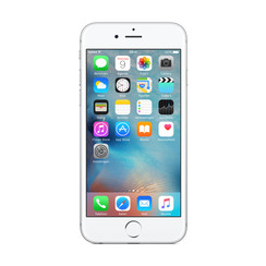 Refurbished Apple iPhone 6S 64GB-Silver-Als nieuw