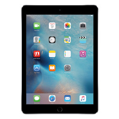 Refurbished Apple iPad Air 2 64GB Wifi + 4G-Space Grey-Als nieuw