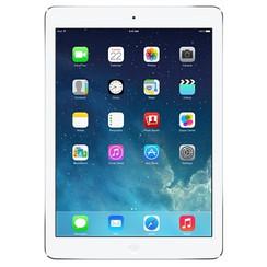 Refurbished Apple iPad Air 16GB Wifi + 4G-Silver-Licht gebruikt