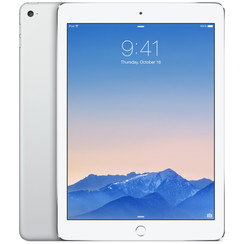Refurbished Apple iPad Air 2 16GB Wifi + 4G-Silver-Als nieuw