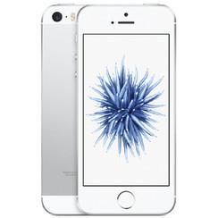 Refurbished Apple iPhone SE 64GB-Silver-Zichtbaar gebruikt
