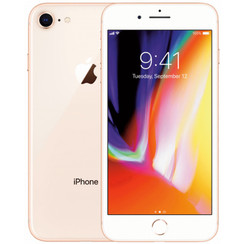 Refurbished Apple iPhone 8 64GB-Gold-Zichtbaar gebruikt