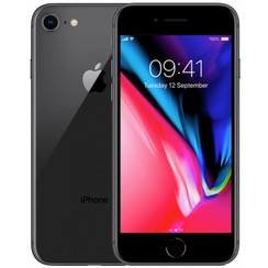 Refurbished Apple iPhone 8 64GB-Space Grey-Licht gebruikt