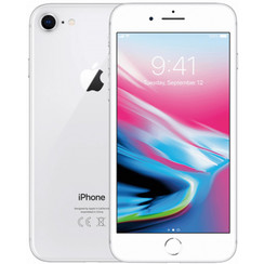 Refurbished Apple iPhone 8 64GB-Silver-Als nieuw