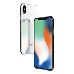 Refurbished Apple iPhone X 64GB-Silver-Zichtbaar gebruikt