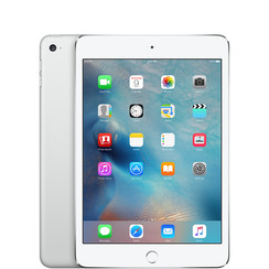 Refurbished Apple iPad Mini 4 16GB Wifi + 4G-Silver-Als nieuw