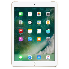 Refurbished Apple iPad (2017) 128GB Wifi only-Gold-Licht gebruikt