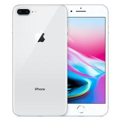 Refurbished Apple iPhone 8 Plus 64GB-Silver-Zichtbaar gebruikt