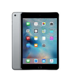 Refurbished Apple iPad Mini 4 64GB Wifi only-Space Grey-Licht gebruikt