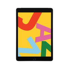 Refurbished Apple iPad (2019) 32GB Wifi + 4G-Space Grey-Als nieuw