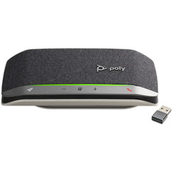 POLY Sync 20+, Sy20-M, USB-A (BT600) Telefoonspeaker - Zwart,Zilver