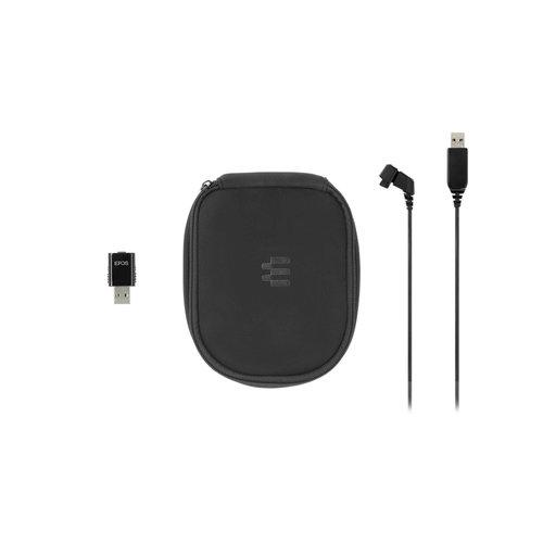 Epos Sennheiser  EPOS SDW 5031  draadloze Mono headset met Dect Dongle