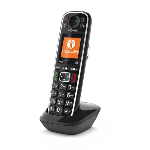 Gigaset Gigaset E720Hx losse dect handset met lader (S30852-H2963-R101)