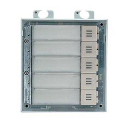 2N 2N® IP Verso - 5 Buttons Module (9155035)