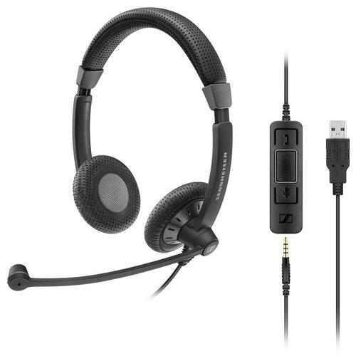 Epos Sennheiser  Sennheiser EPOS IMPACT SC 75 USB MS  Headset voor thuiswerkers (1000635)