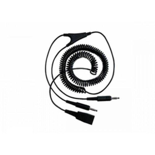 Jabra Jabra aansluitkabel (krul) 2x QD-3,5 mm jack