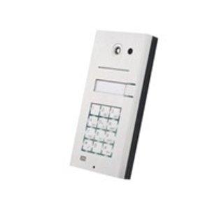 2N HELIOS IP DEURINTERCOM met 1 toets + toetsenbord