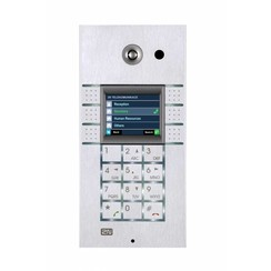 2N Helios IP 3x2 button met keypad met display