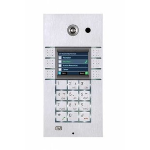 2N Helios IP 3x2 button met keypad met display