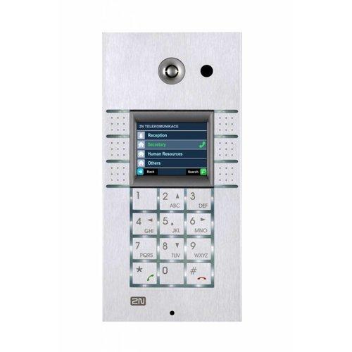 2N 2N Helios IP 3x2 button met keypad met display