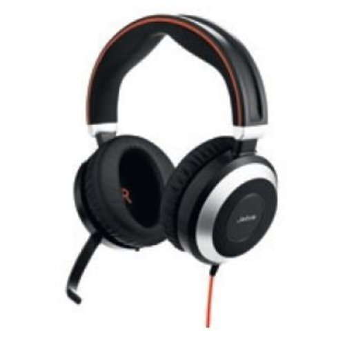 Jabra Jabra Evolve 80 UC Stereo headset met Active Noise Cancellation
