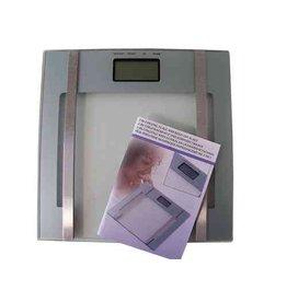 Digitale weegschaal en lichaamsvet 2 in 1