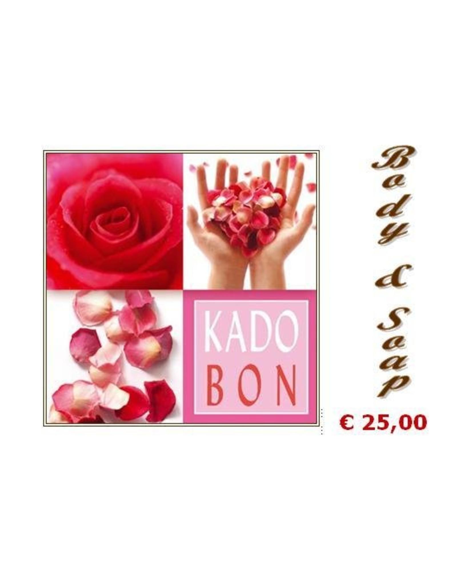 Cadeaubonnen - Body & Soap