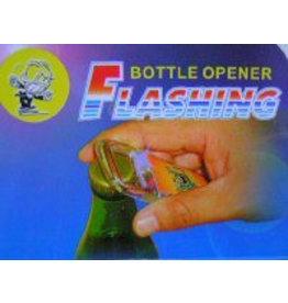 Flashing bier opener