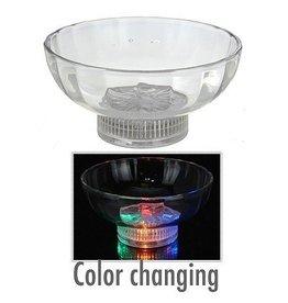 Schaal met LED verlichting
