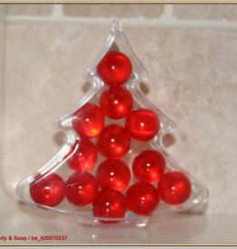 PVC kerstboom met badparels