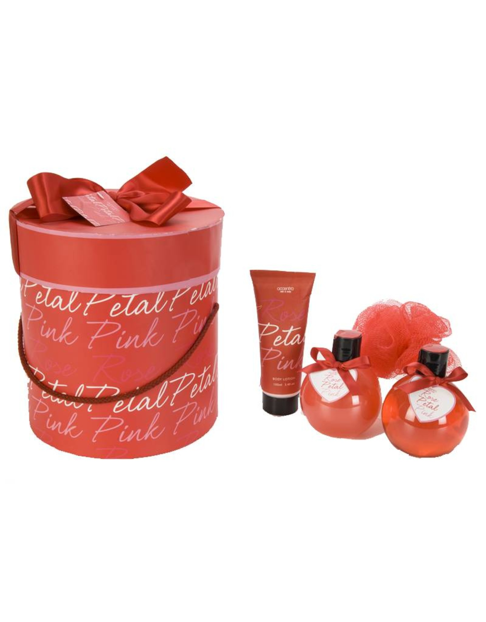 Giftset 'Rose Petal' Luxe box - Body & Soap