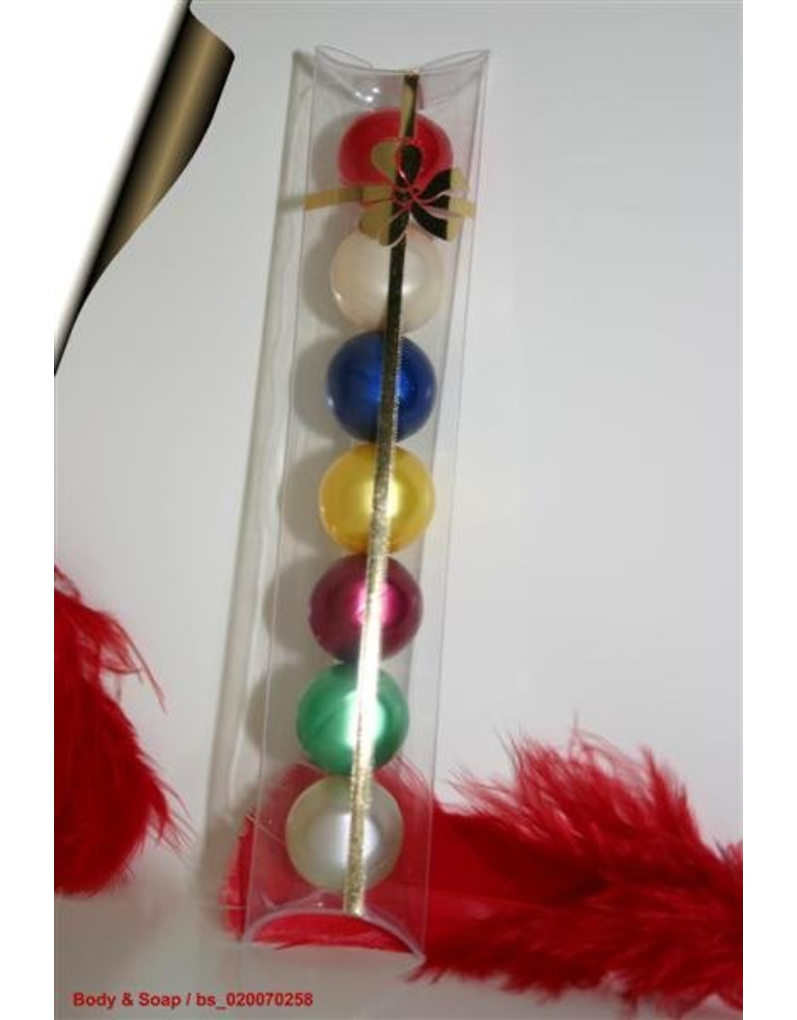 Badparels (rond) in geschenketui - Body & Soap