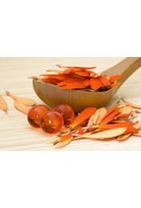 Badparel (oranje) transparant - Body & Soap