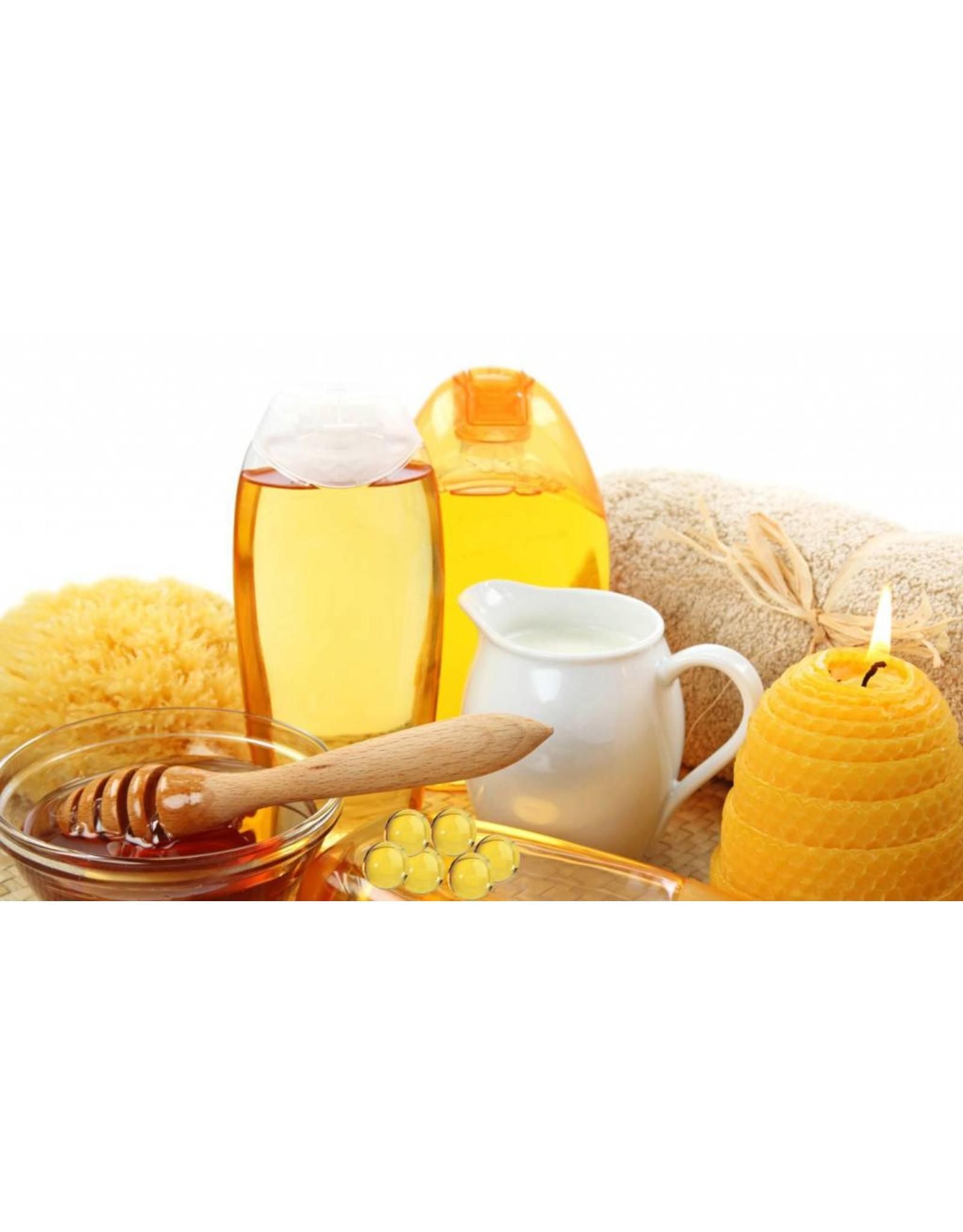 Badparel (geel) transparant - Body & Soap