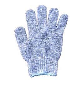 Scrub handschoen 'blauw'
