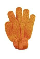 Scrub handschoen 'oranje' - Body & Soap