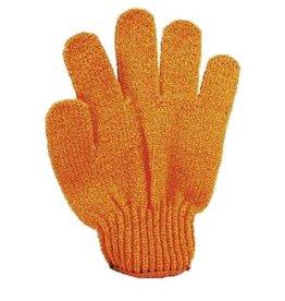 Scrub handschoen 'oranje'
