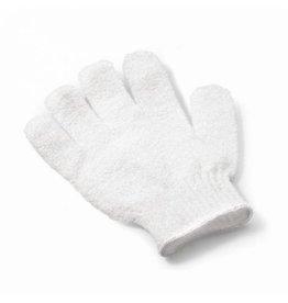 Scrub handschoen 'wit'